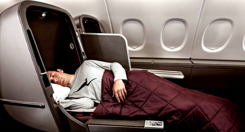 Qantas Airways, business class
