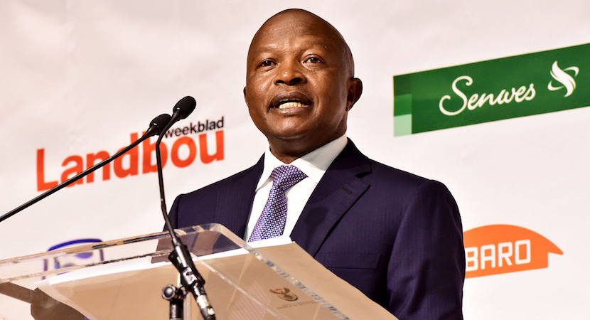David Mabuza, Landbou Weekblad, AgriSA Land Summit
