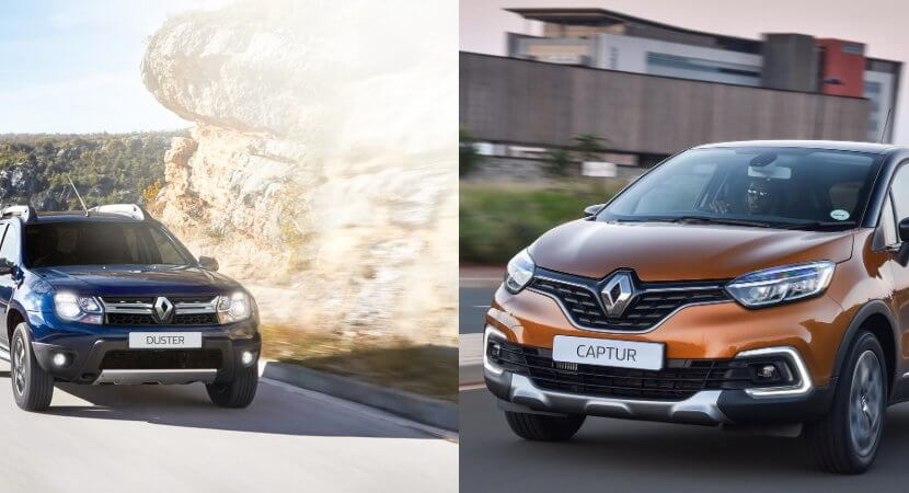 A duo of Renaults: Duster and Captur give options in the compact SUV market