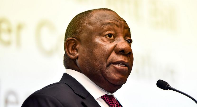 Cyril Ramaphosa, SA president, NHI