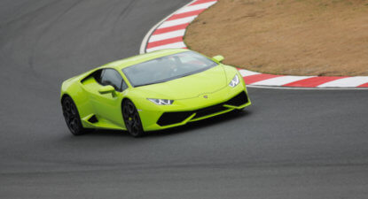 Lamborghini Huracán: playing matador for a day