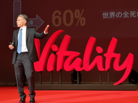 Adrian Gore, Discovery, Sumitomo Vitality, Japan