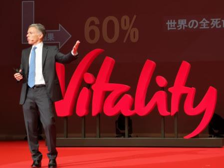 Adrian Gore, Discovery, Sumitomo Vitality, Japan