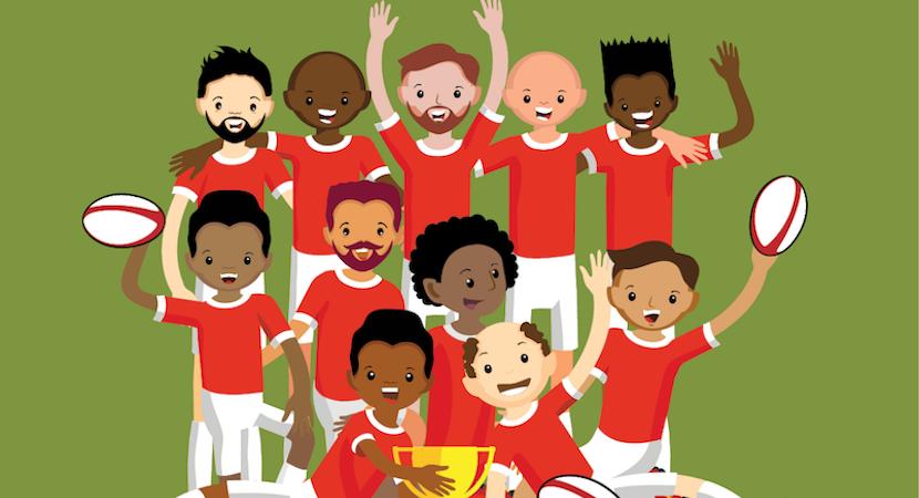 Ben, BrightRock, Change Exchange, rugby, winning