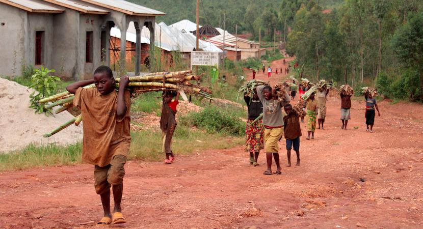 Africa, Burundi, poverty