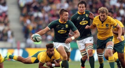 Pollard, Kriel relish playing Test rugby at Loftus home