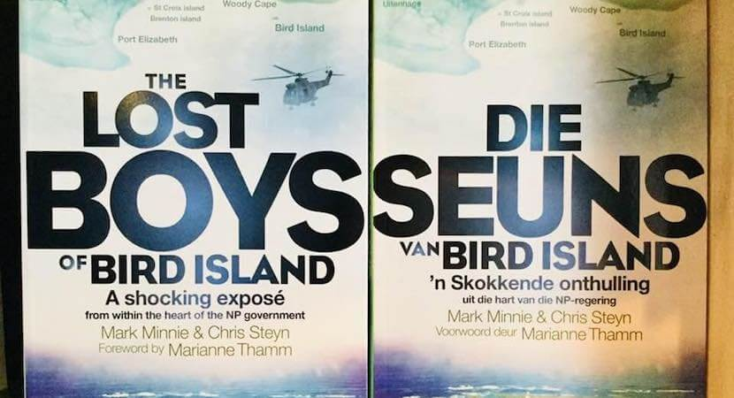 Meet Chris Steyn author of nation-rocking Lost Boys of Bird Island
