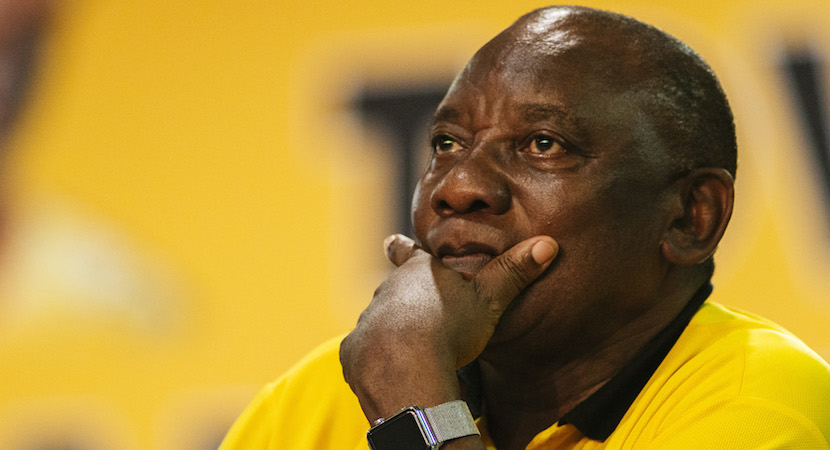 Cyril Ramaphosa, ANC,