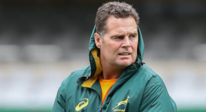 Erasmus tweaks the Bok side for Saturday's Kiwi Test