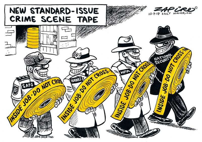 SAPS, Hawks, NPA, National Security