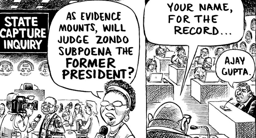State Capture, Zondo Commission, Jacob Zuma, Ajay Gupta