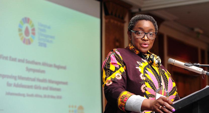 Minister Bathabile Dlamini