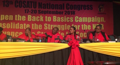 Ramaphosa's strengthening grip: Close ally to lead Cosatu