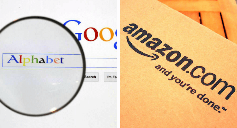 Amazon, Alphabet in cloud arms race as traditional growth wobbles