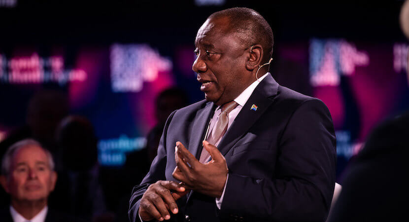 Inching towards $100bn; Ramaphosa says investment strike is over