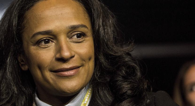 Isabel dos Santos, Angola