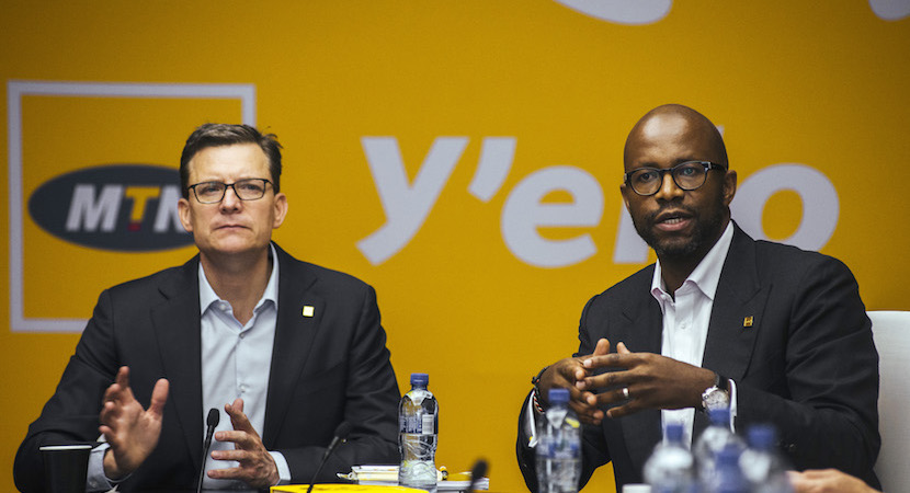 MTN Group Ltd. Full Year Results News Conference As Company Mulls Exit Of War-Torn African Markets