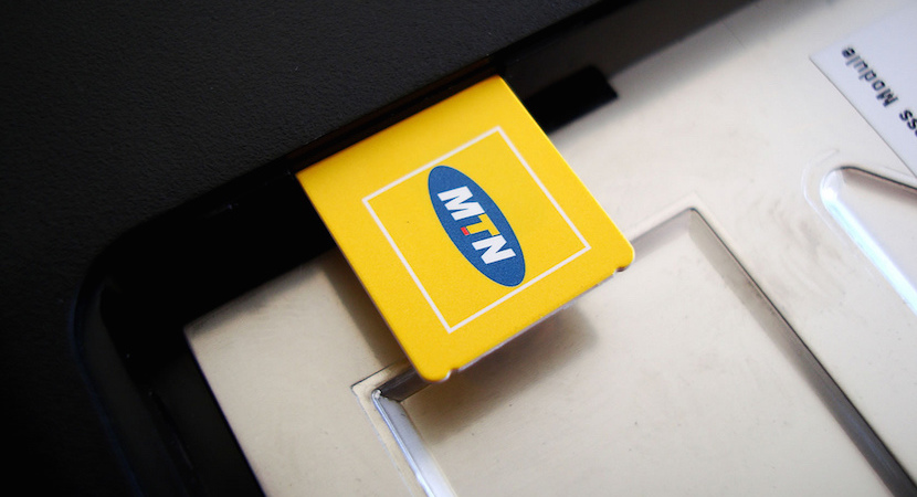 MTN SIM card, cellphone, smart devices
