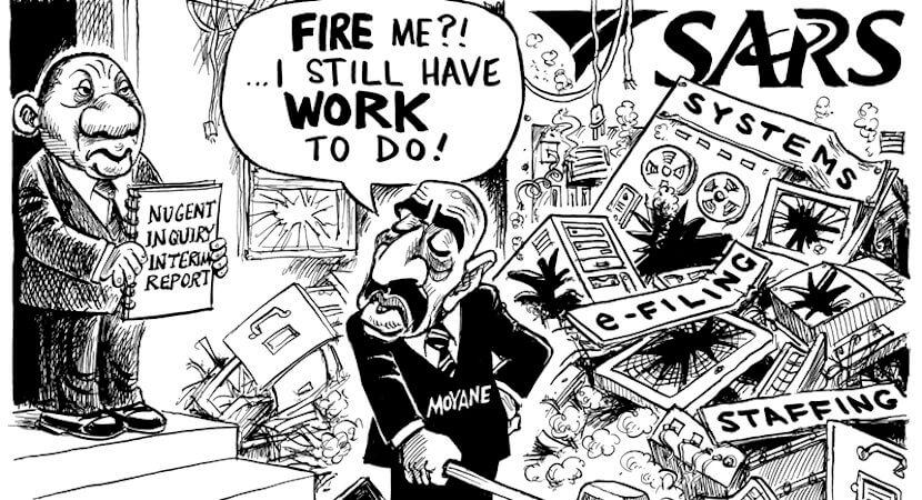 """Moyane crony won """"worthless"""" R200m SARS tender – Nugent Commission"""