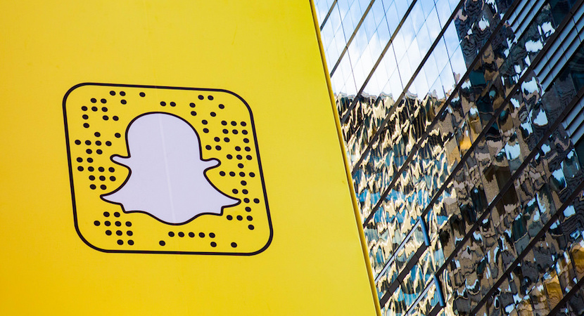 SnapChat, Times Square