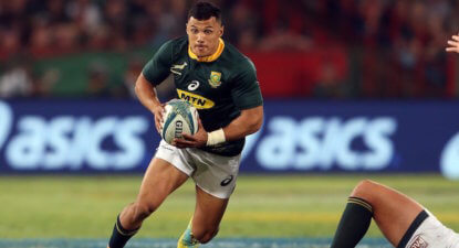 Papier to start Bok Test against Scotland