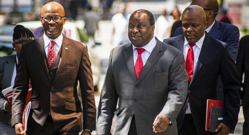 Tito Mboweni, Mondli Gungubele, Dondo Mogajane