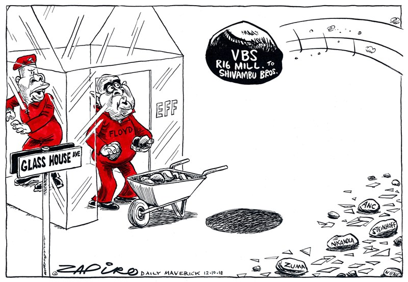 EFF bank fraud scandal reminds world that SA is corrupt