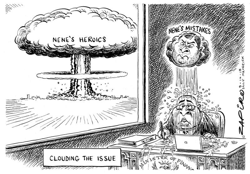 Nhlanhla Nene, Zapiro