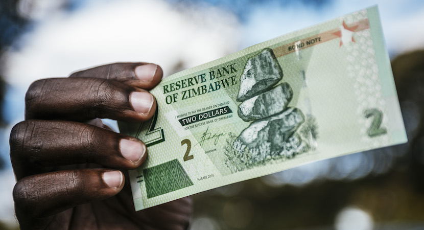 Zimbabwe, dollar, bond notes
