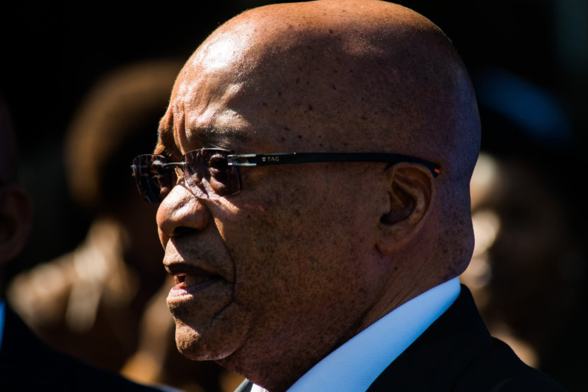 Zuma has links to VBS Bank