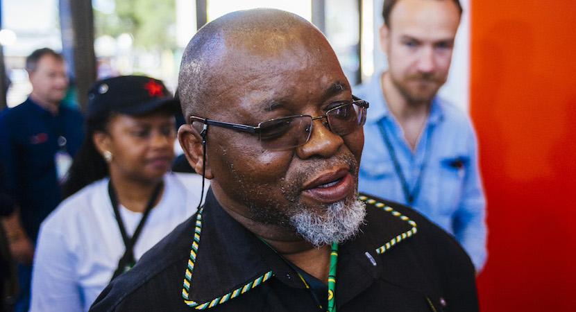 Gwede Mantashe, Mining Charter, ANC,