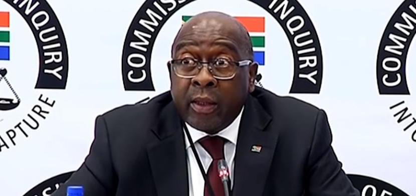 Testimony by Finance Minister Nhlanhla Nene.