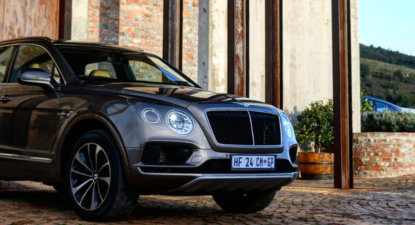Bentley Bentayga – An exercise in luxury