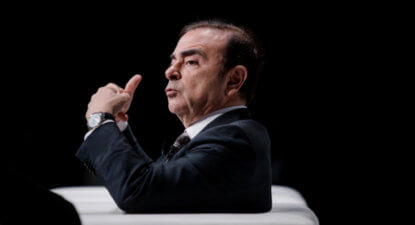 Shock as Nissan boss arrested for financial crimes