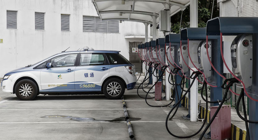 China, electric vehicles, batteries