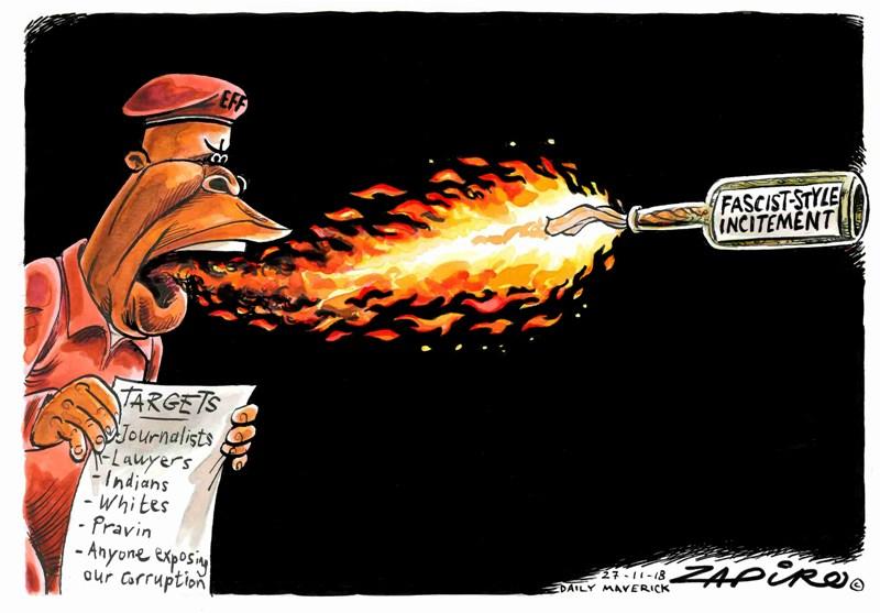 EFF Julius Malema Zapiro