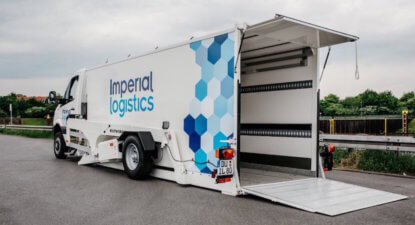 A week before separation from its twin, Imperial gets set for life in logistics