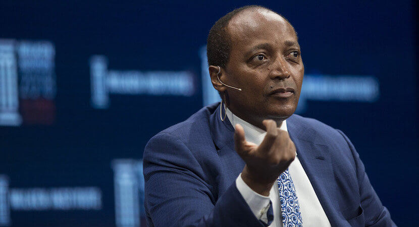 Billionaire Motsepe gets going with challenging SA banks