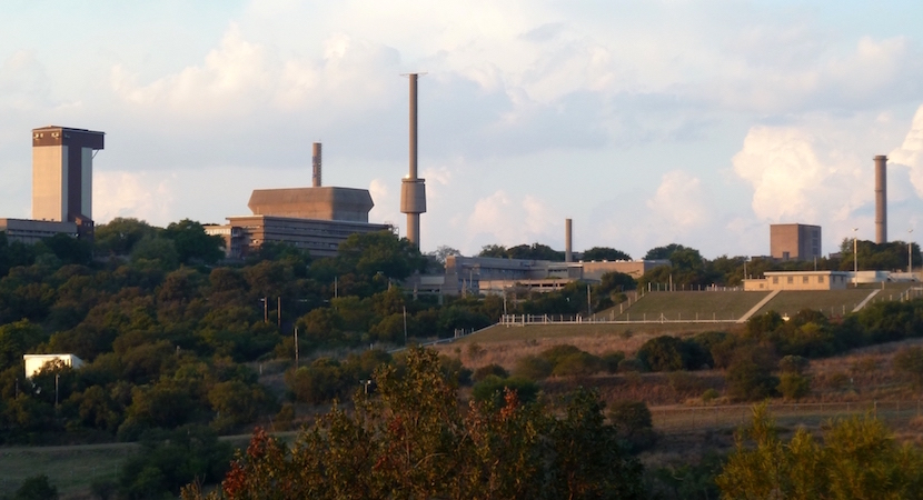 Buildings housing the SAFARI-1 research reactor in Pelindaba, outside Pretoria, South Africa.