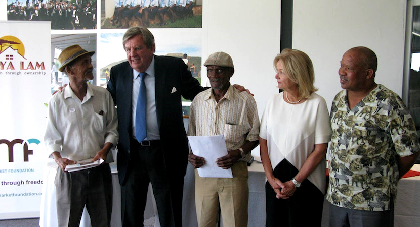 Johann Rupert Karoo title deeds