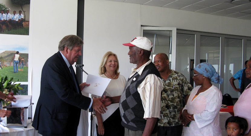 Ruperts quietly get on with land reform, offering township title-deeds