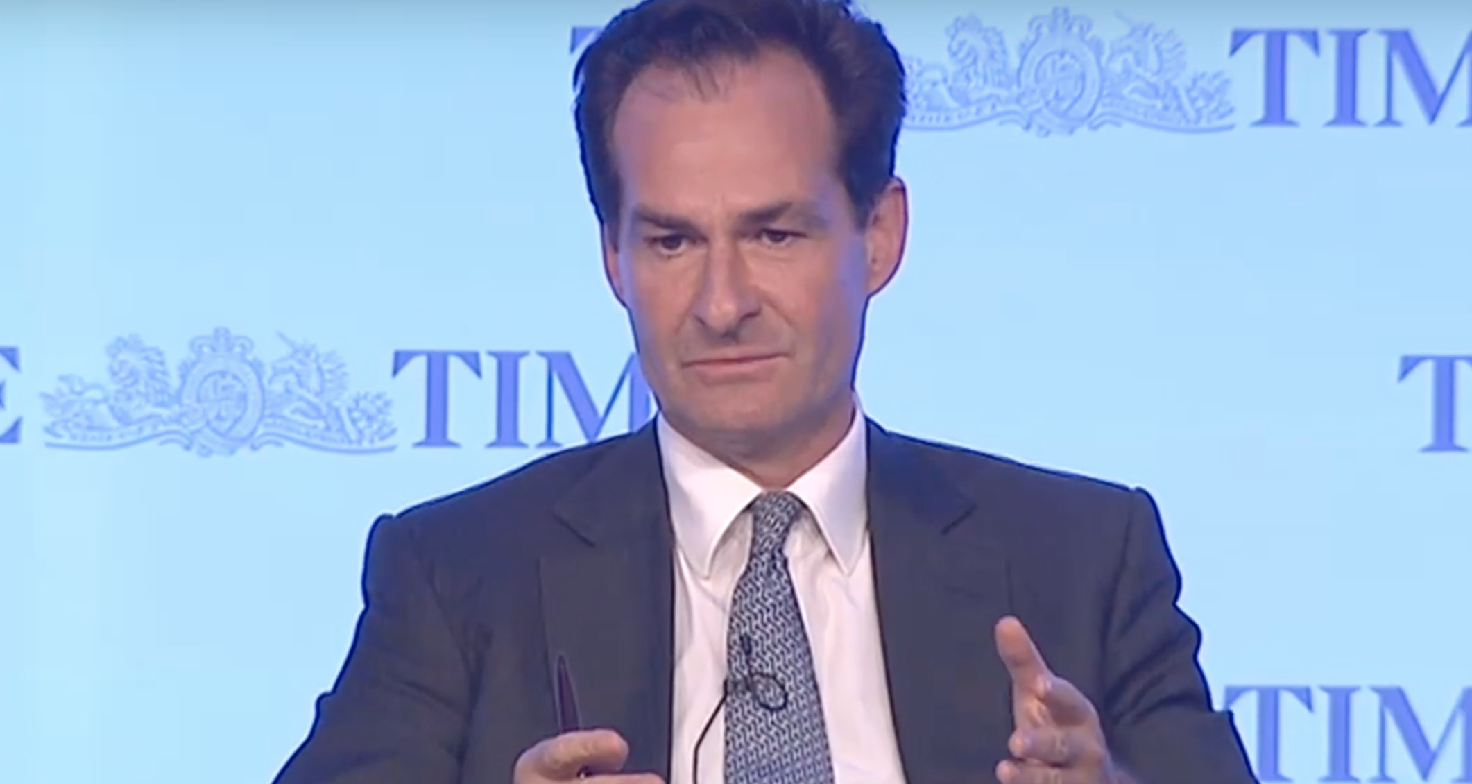 Brian Menell is the chairman and CEO of electric mining battery company TechMet. (Pic: YouTube)