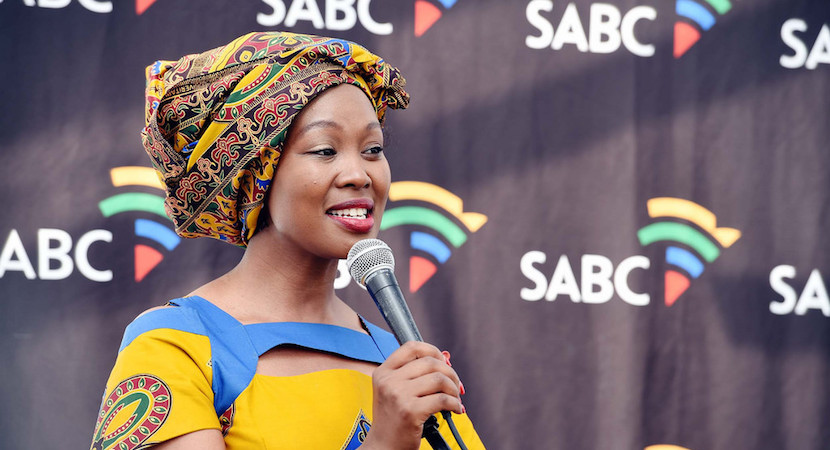 Minister of Communications Stella Ndabeni-Abrahams.