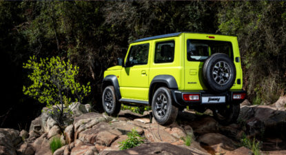New Suzuki Jimny: David in a world of Goliaths