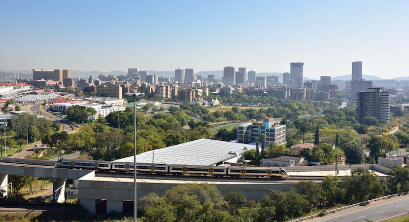 View of Pretoria, Tshwane, Gauteng, South Africa.