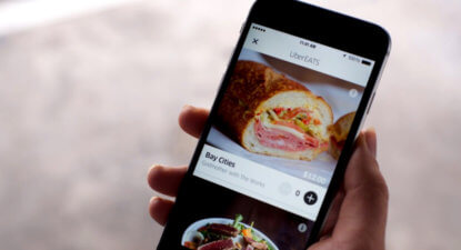 Uber turns up the heat on its food delivery service