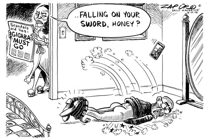 Malusi Gigaba Zapiro