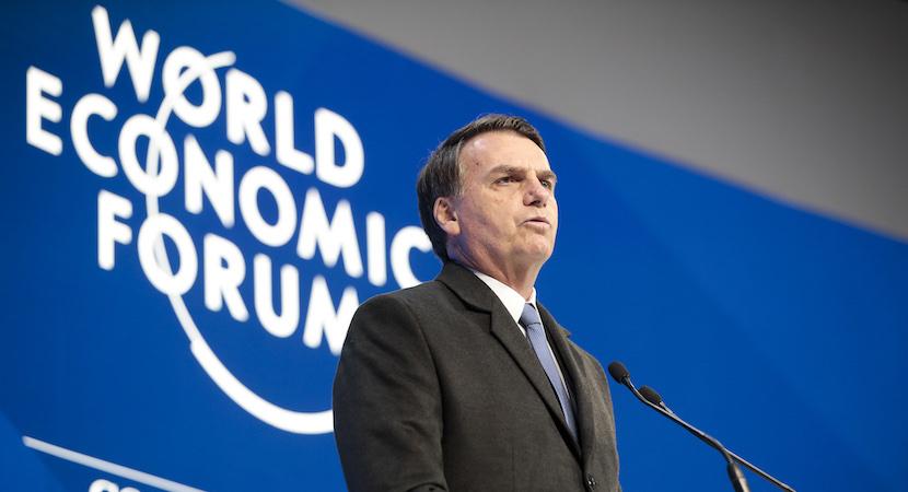 Brazil Jair Bolsonaro WEF