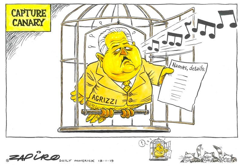 Angelo Agrizzi, Bosasa, State Capture