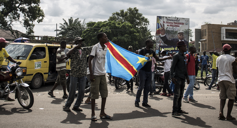DRC Election Tshisekedi supporters